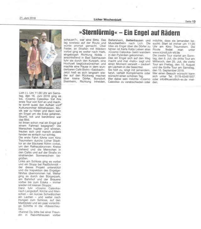 Presse 21. Juni 2018_Sternförmig